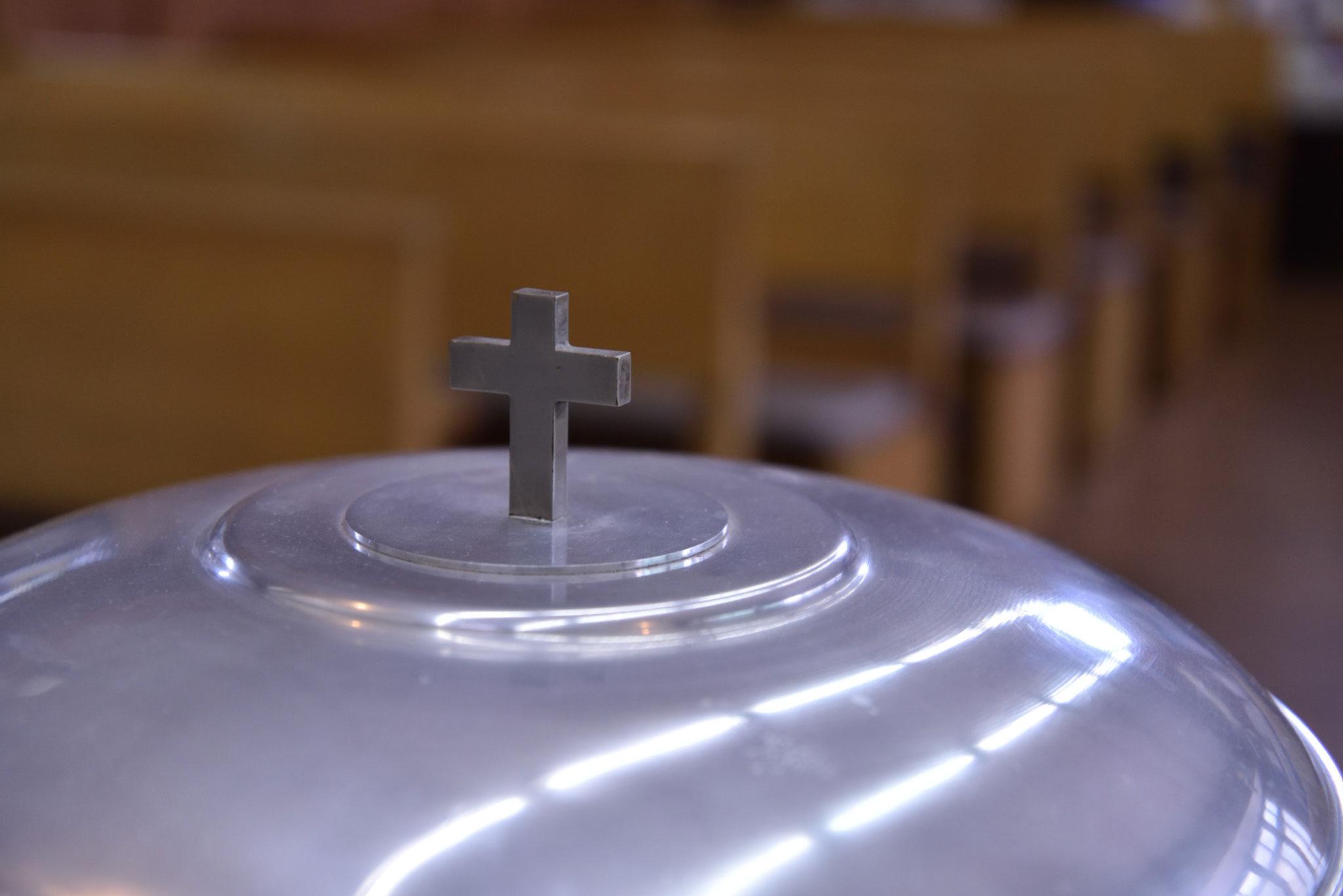 カンバーランド長老キリスト教会東小金井教会の礼拝堂の様子です