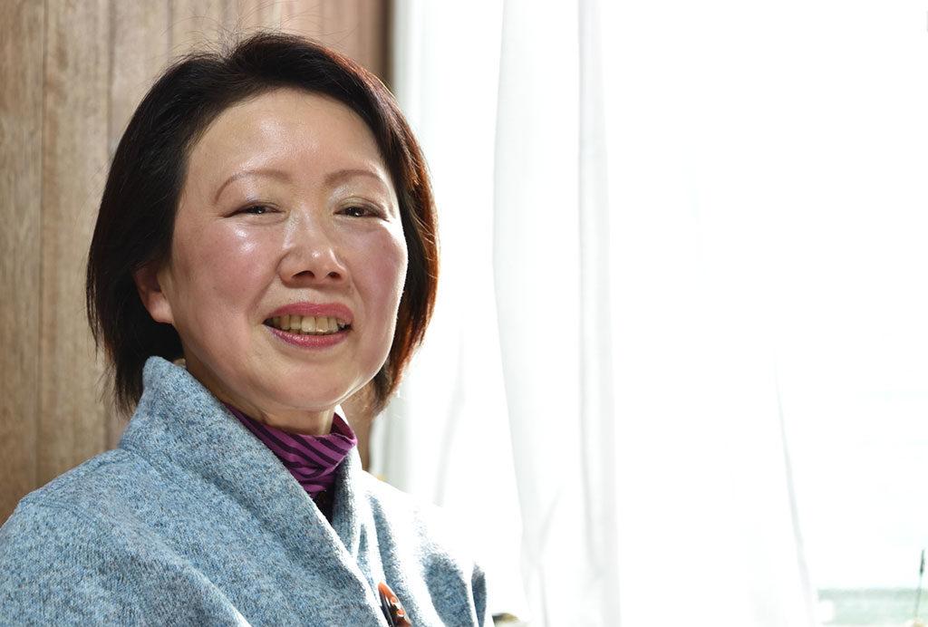 東小金井教会牧師 関 伸子(せき のぶこ)です